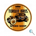 Autoaufkleber Torque Bros. Speed Shop, Aufkleber Torque Bros. Speed Shop